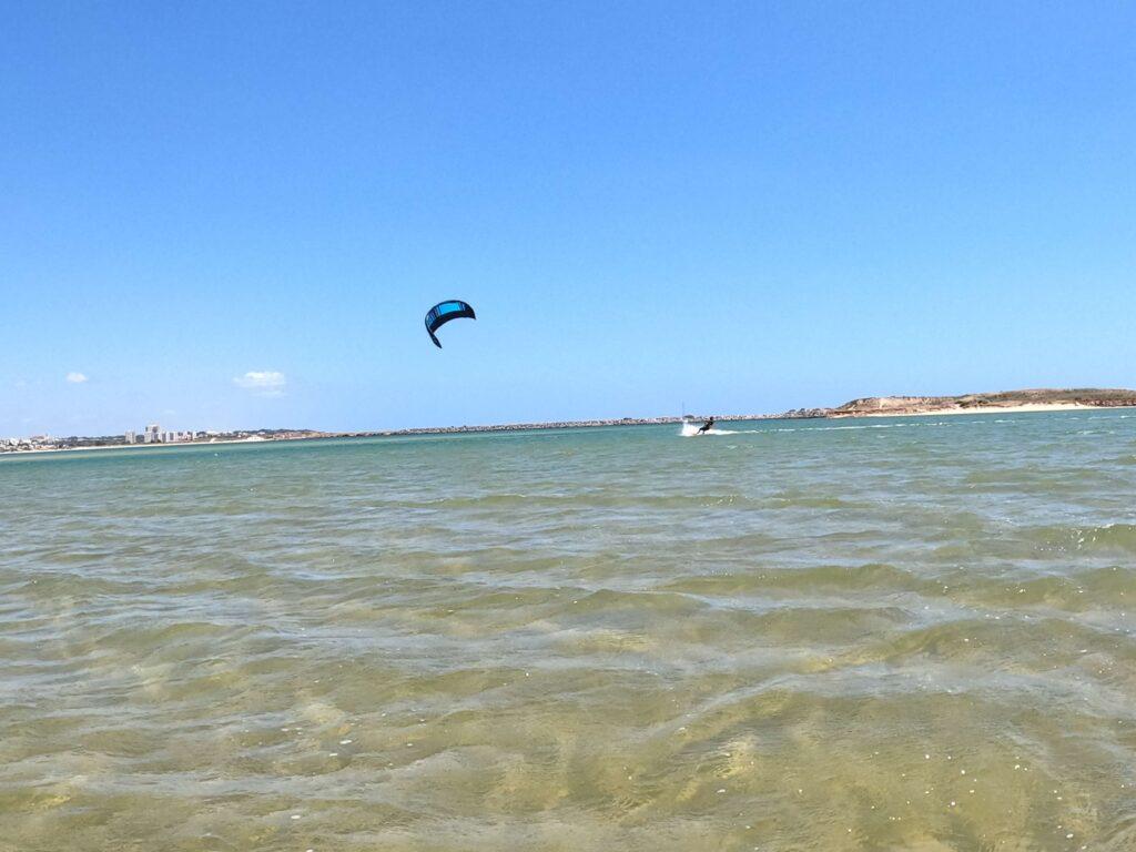 Kitesurf lagos in Ria de Alvor Lagoon
