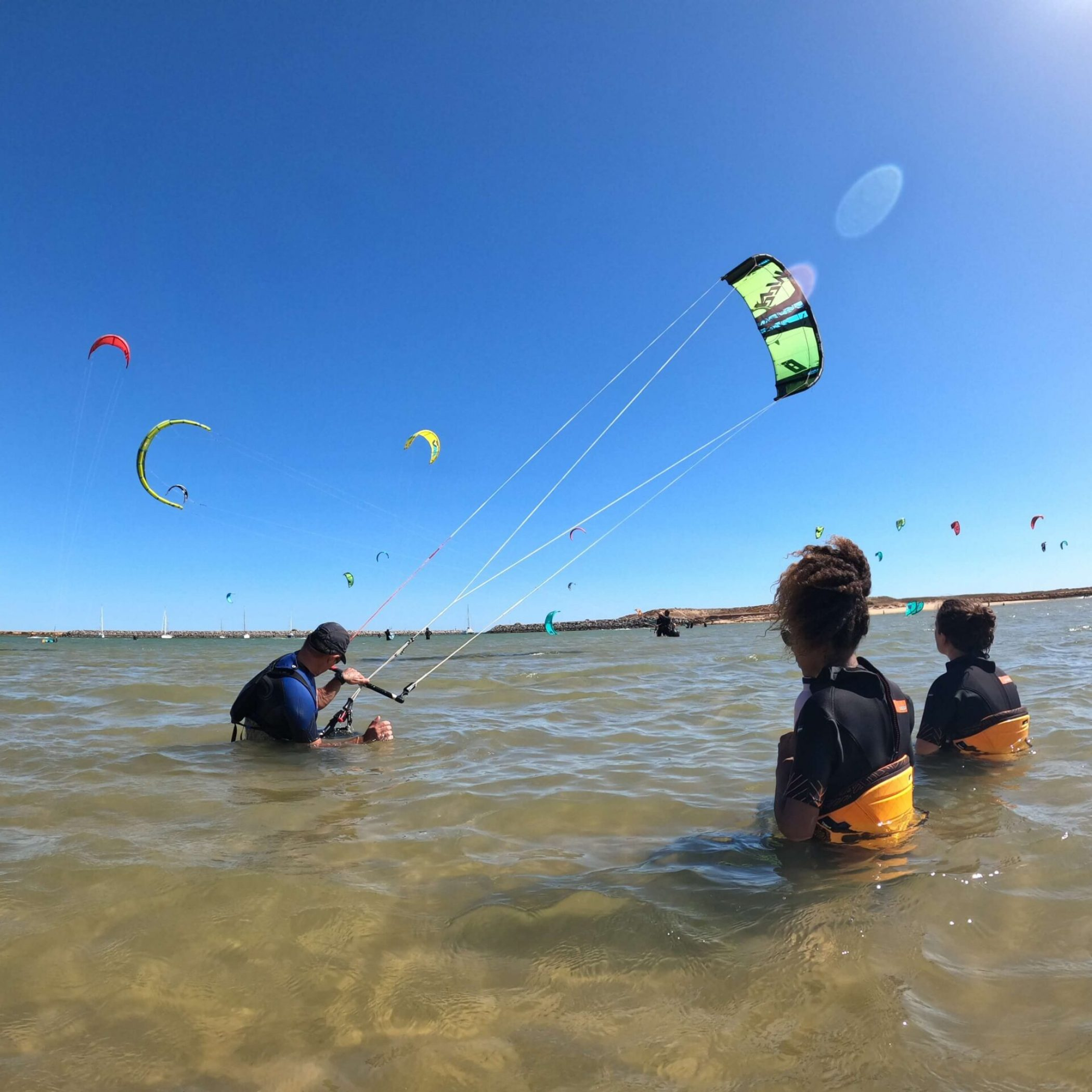 Kitesurf school